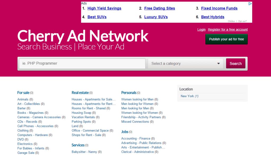 Cheery Ad Net